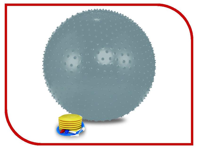 Мяч массажный Lite Weights 1875LW 75cm Silver 28268376 гантель неопреновая lite weights цвет серый 3 кг