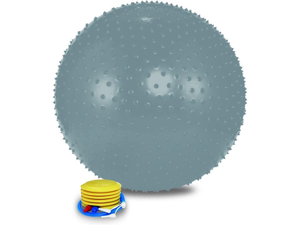 Мяч массажный Lite Weights 1875LW 75cm Silver 28268376
