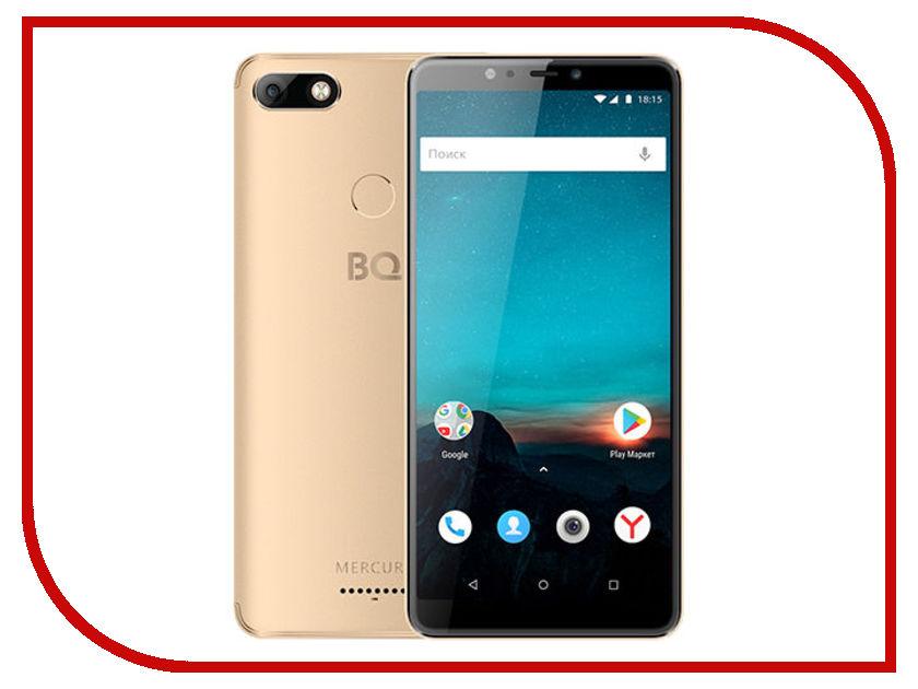 Сотовый телефон BQ 6016L Mercury Gold сотовый телефон senseit t100 black