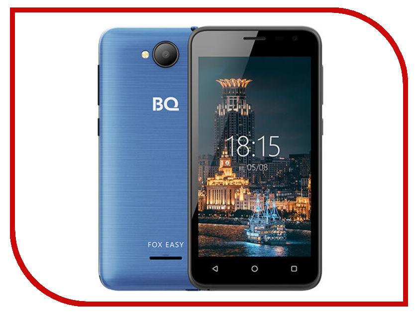 Сотовый телефон BQ 4501G Fox Easy Blue new creative simulation fox toy polyethylene