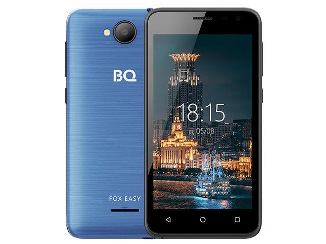 Сотовый телефон BQ 4501G Fox Easy Blue