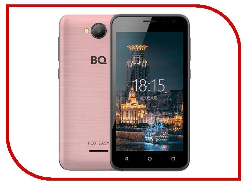 Сотовый телефон BQ 4501G Fox Easy Rose Gold сотовый телефон senseit t100 black