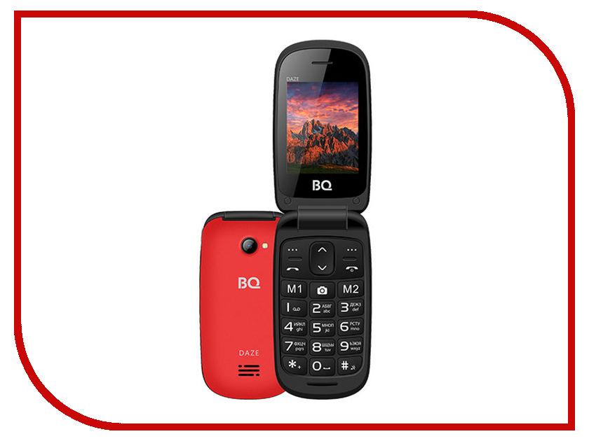 Сотовый телефон BQ BQ-2437 Daze Red сотовый телефон senseit t100 black
