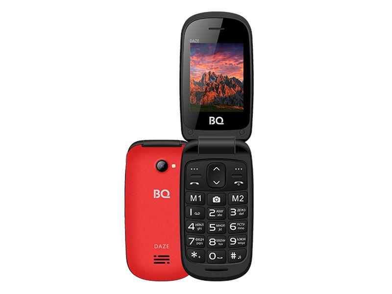 Сотовый телефон BQ BQ-2437 Daze Red цена и фото