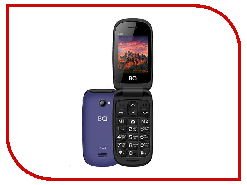 Сотовый телефон BQ BQ-2437 Daze Blue кеды daze daze da921awmbp60