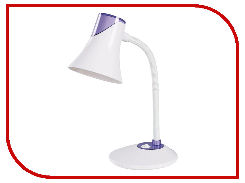 Настольная лампа Sonnen OU-607 White-Violet 236682
