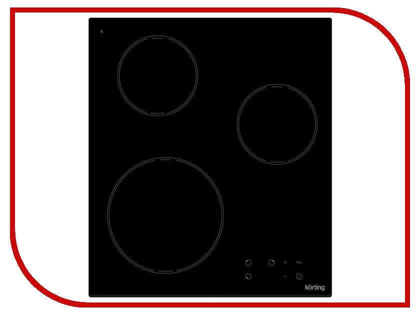 Варочная панель Korting HI 42031 B индукционная варочная панель korting hi 42031 b