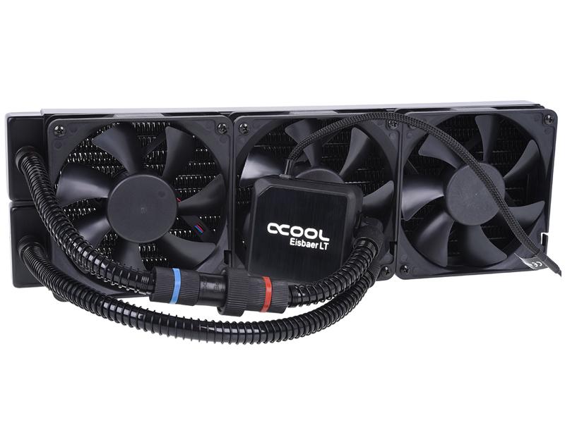 Водяное охлаждение Alphacool Eisbaer 360 Black цена