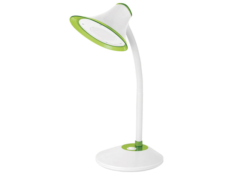 Настольная лампа Sonnen OU-608 White-Green 236670 вентилятор sonnen tf 25w 23 white grey 451038