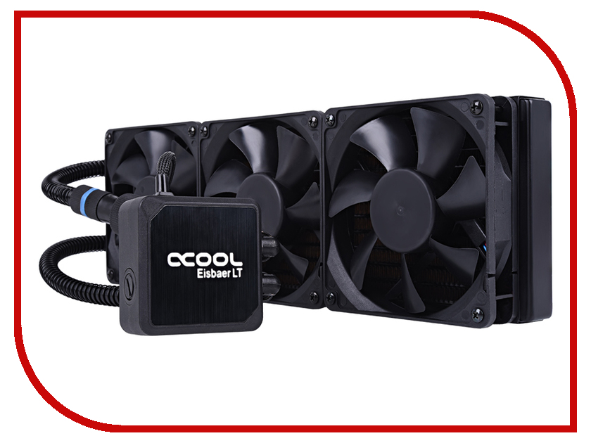 цены Водяное охлаждение Alphacool Eisbaer LT360 Black