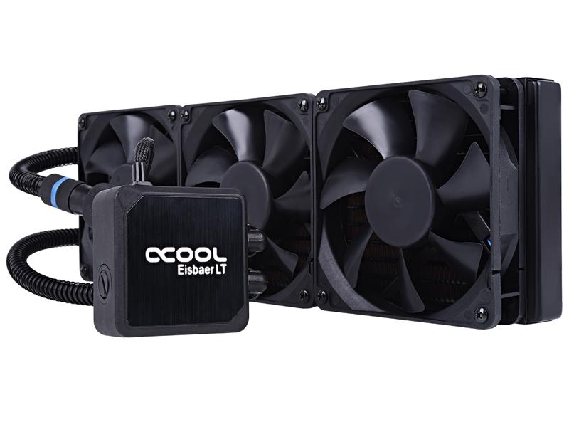 Водяное охлаждение Alphacool Eisbaer LT360 Black