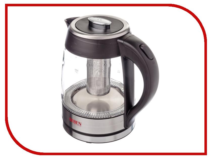 Чайник LEBEN 291-009 мужские часы doxa dx 291 10 023n 02