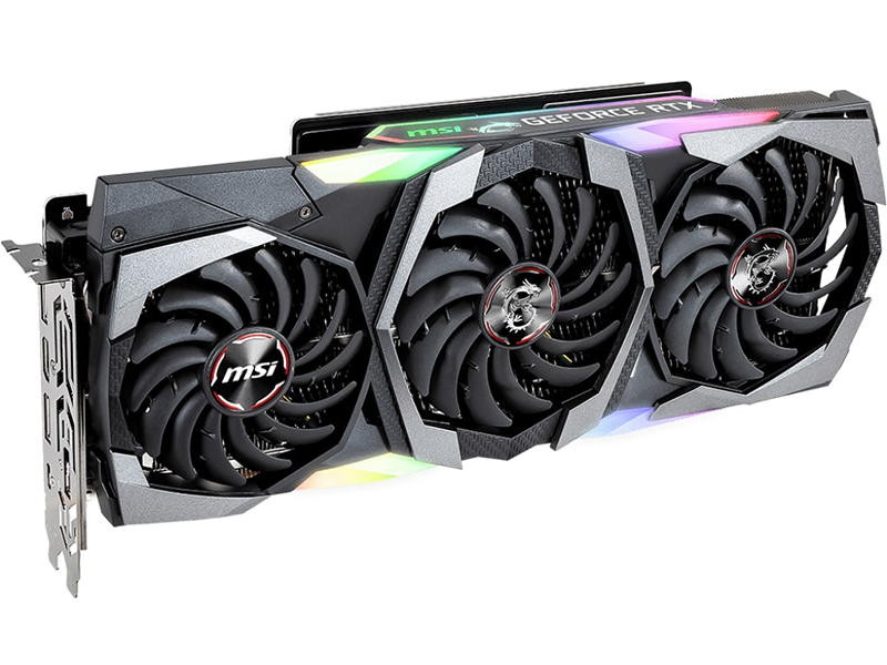 Видеокарта MSI GeForce RTX 2080 1515MHz PCI-E 3.0 8192MB 14000MHz 256 bit HDMI HDCP GAMING X TRIO
