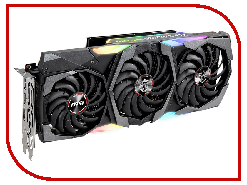 Видеокарта MSI GeForce RTX 2080 Ti 1350 МГц PCI-E 3.0 11264MB 14000 МГц 352 bit HDMI HDCP GAMING X TRIO pci e to