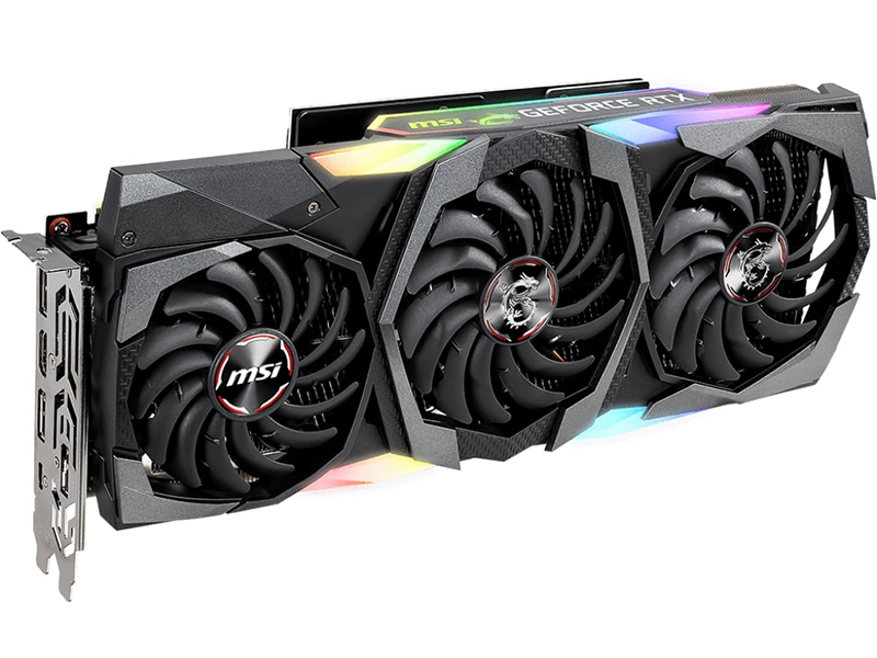 Видеокарта MSI GeForce RTX 2080 Ti 1350 МГц PCI-E 3.0 11264MB 14000 352 bit HDMI HDCP GAMING X TRIO