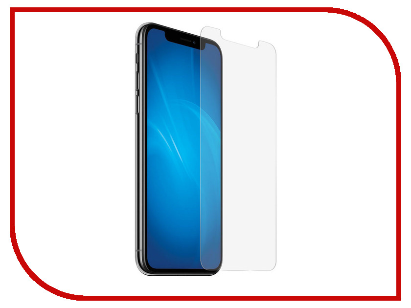 Аксессуар Защитное стекло для APPLE iPhone XS Max ZibelinoTG ZTG-APL-IPH-XSMAX аксессуар чехол zibelino clear view для apple iphone xs blue zcv apl xs blu
