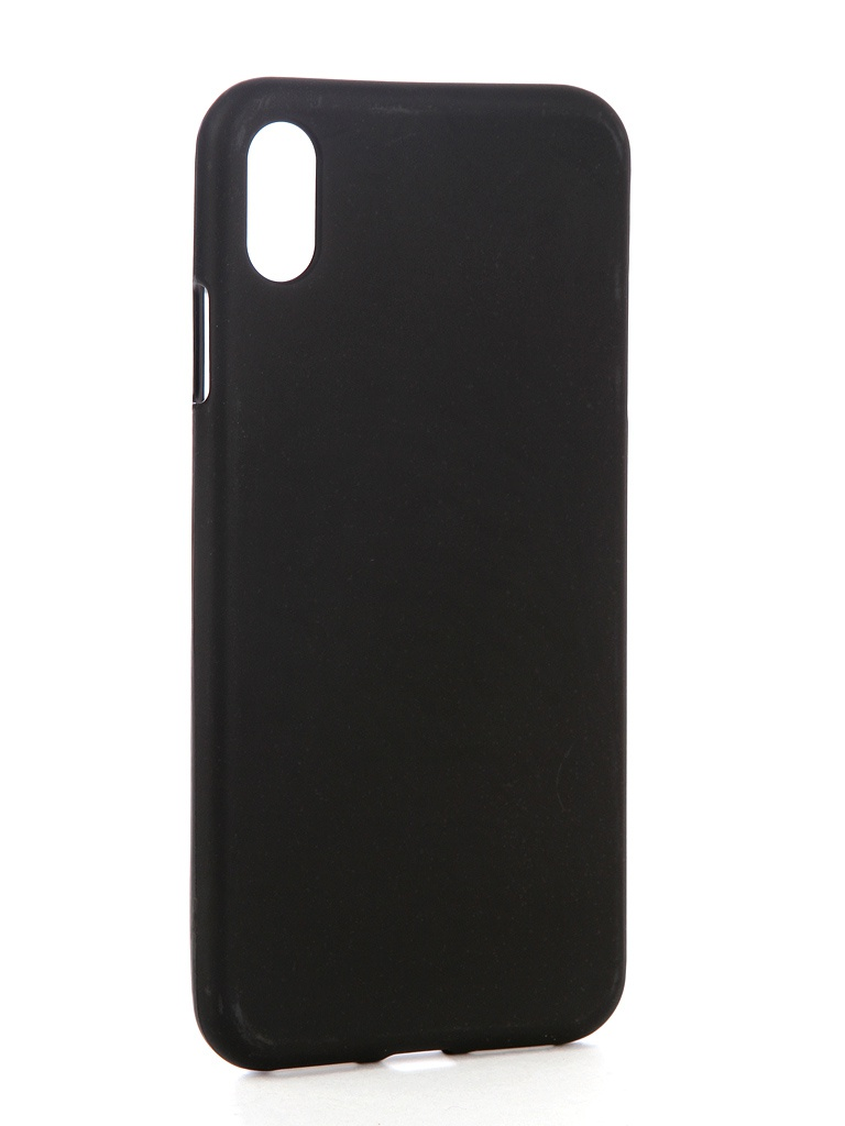Аксессуар Чехол Zibelino для APPLE iPhone XS Max Soft Matte Black ZSM-APL-XSMAX-BLK аксессуар чехол apple для apple iphone xs max mrwt2zm a