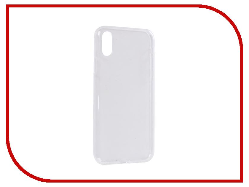 Аксессуар Чехол для APPLE iPhone XR Zibelino Ultra Thin Case Transparent ZUTC-AP-XR-WHT