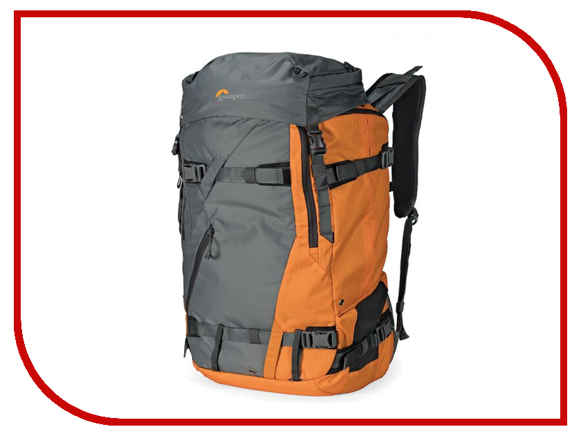 LowePro Powder BP 500 AW Grey-Orange LP37230-PWW рюкзак lowepro quadguard bp x2 black grey lp37011 pww