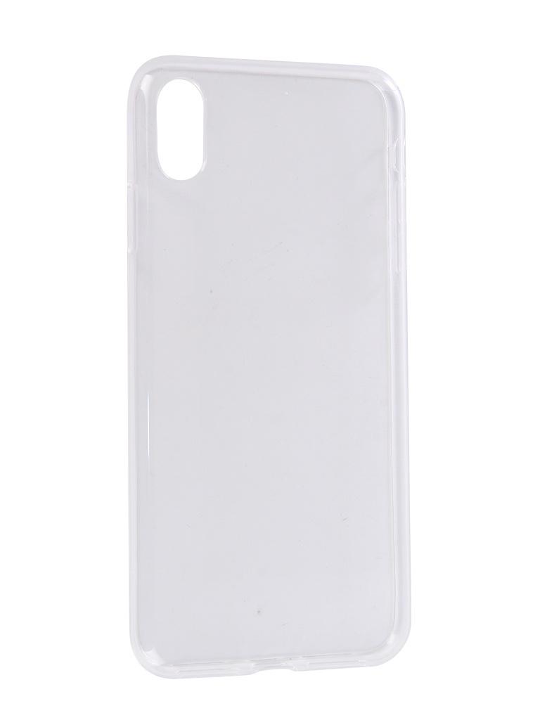 Аксессуар Чехол Zibelino для APPLE iPhone XS Max Ultra Thin Case Transparent ZUTC-AP-XSMAX-WHT цена