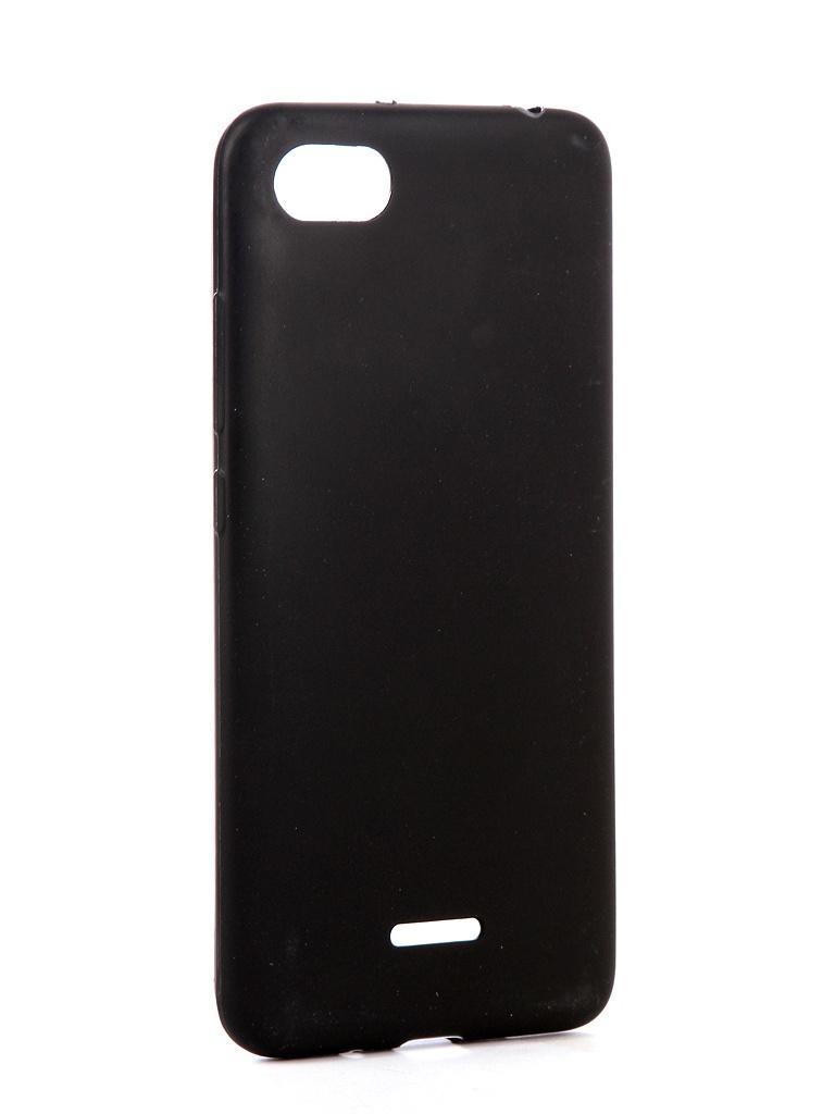 Чехол Zibelino для Xiaomi Redmi 6A Soft Matte Black ZSM-XIA-6A-BLK