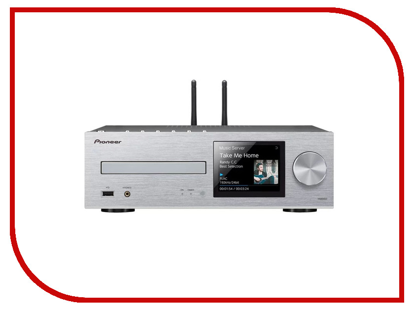 CD-проигрыватель Pioneer XC-HM86D-S new original xc e8ad updated to xc e8ad h 14bit 8 ai plc expansion modules