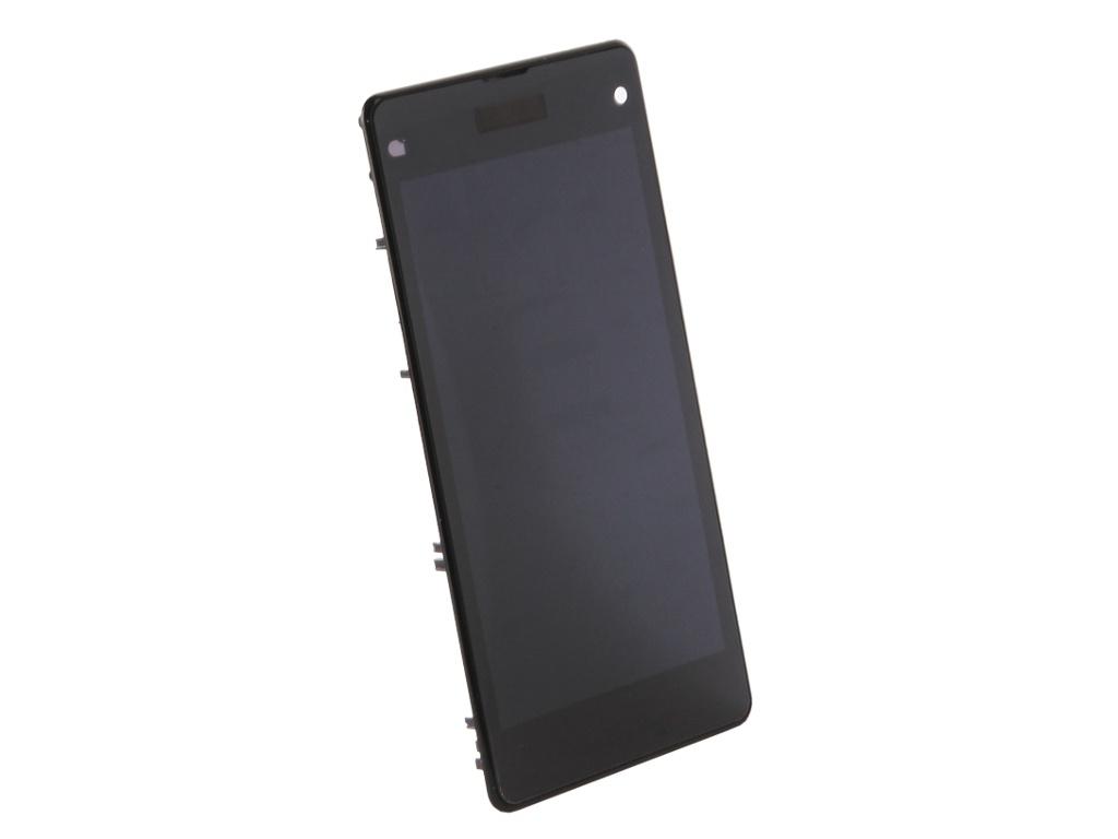 Дисплей RocknParts Zip для Sony Xperia Z1 Compact D5503 Black 480205 цена