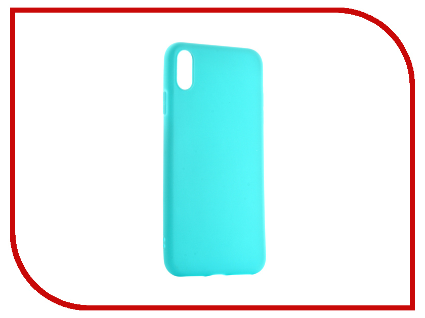 Аксессуар Чехол для APPLE iPhone XS Max Neypo Soft Matte Turquoise NST5453 аксессуар чехол neypo silicone soft matte для apple iphone 8 7 light blue nst4591