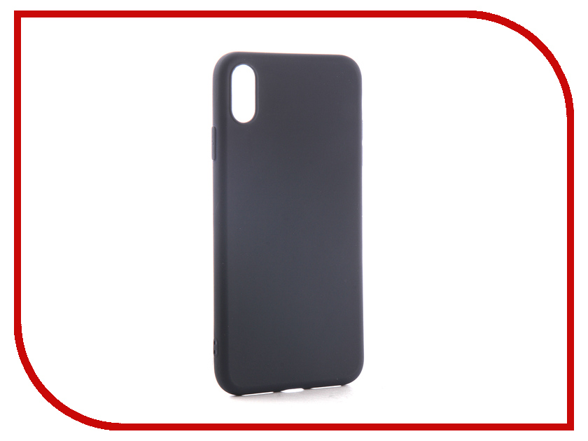 Аксессуар Чехол для APPLE iPhone XS Max Neypo Soft Matte Dark Blue NST5454 аксессуар чехол для huawei mate 20 lite neypo soft matte dark blue nst5839