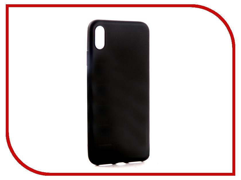 Аксессуар Чехол для APPLE iPhone XS Max Neypo Soft Matte Black NST4987 аксессуар чехол для apple iphone xs max neypo soft matte red nst5455