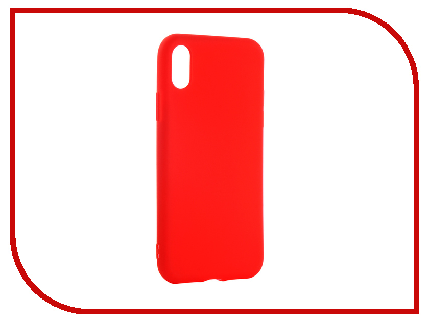 Аксессуар Чехол для APPLE iPhone XS Neypo Soft Matte Red NST5457 аксессуар чехол для apple iphone xs neypo soft matte red nst5457
