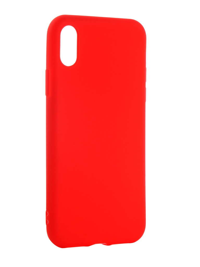 Чехол Neypo для APPLE iPhone XS Soft Matte Red NST5457
