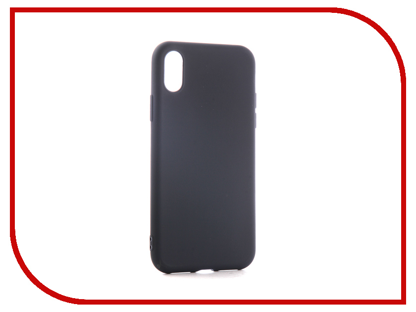 Аксессуар Чехол для APPLE iPhone XS Neypo Soft Matte Dark Blue NST5458 аксессуар чехол neypo supreme для apple iphone x black nsb3305