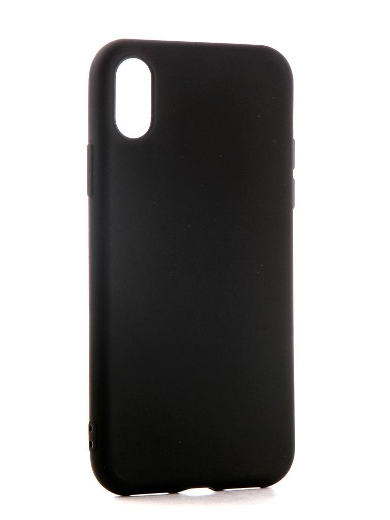 Аксессуар Чехол Neypo для APPLE iPhone XS Soft Matte Black NST5459 аксессуар чехол для xiaomi mi a1 neypo soft touch black st3324