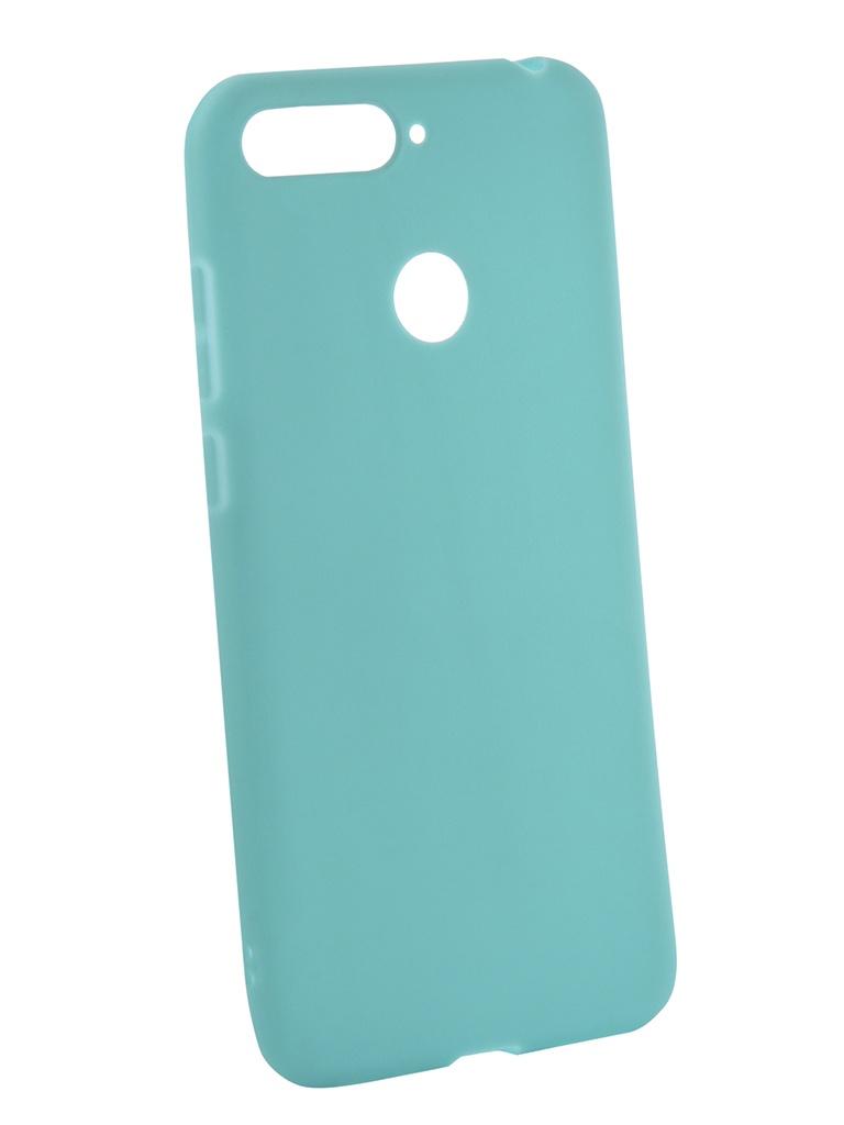 Фото - Аксессуар Чехол Neypo для Honor 7C Soft Matte Turquoise NST4616 аксессуар чехол для honor 7c neypo premium burgundy nsb5743