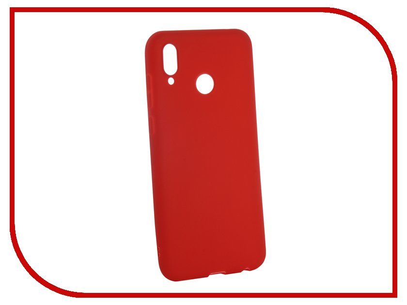 Аксессуар Чехол для Huawei Honor Play Neypo Soft Matte Red NST4935