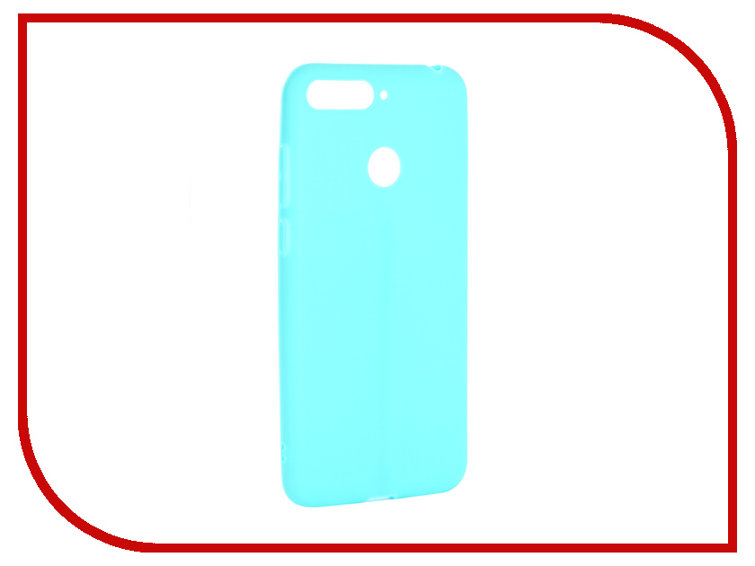 Аксессуар Чехол для Huawei Y6 Prime 2018 Neypo Soft Matte Turquoise NST4620