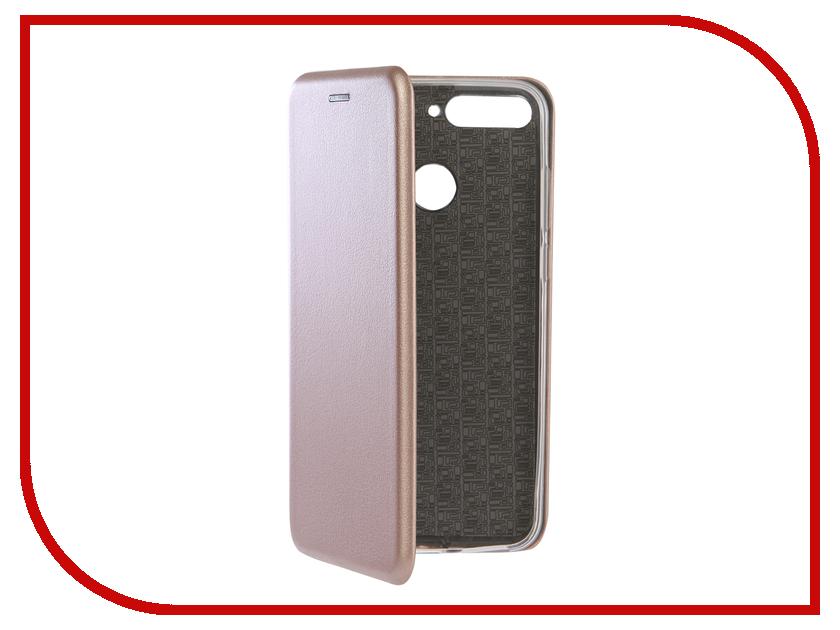 Аксессуар Чехол для Huawei Honor 7A Pro Neypo Premium Rose Gold NSB5114 аксессуар чехол huawei honor 7 aksberry gold