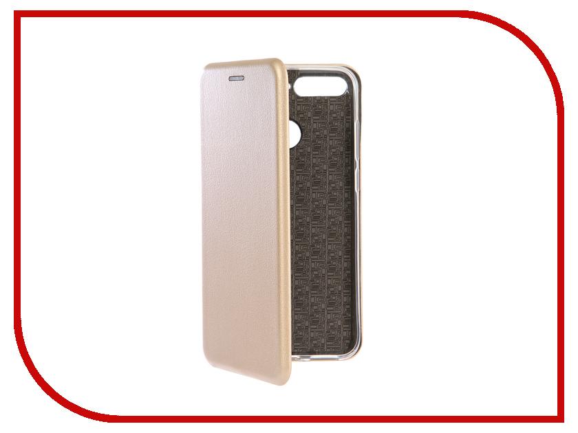 Аксессуар Чехол для Huawei Honor 7C Neypo Premium Gold NSB5094 аксессуар чехол huawei honor 7 aksberry gold
