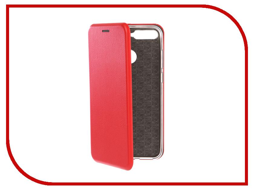 Аксессуар Чехол для Huawei Y6 Prime 2018 Neypo Premium Red NSB5067 чехол red line unit для huawei y6 prime 2018 black
