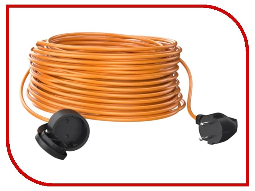 Партнёр-Электро GardenLine 2x0.75 6A без заземления 50m Orange cord US101A-150OR партнёр электро gardenline 3x1 5 16a с заземлением 50m orange cord us106c 150or