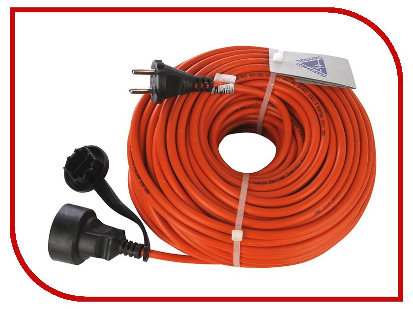Партнёр-Электро GardenLine 2x1.5 10A без заземления 50m Orange cord US103B-150OR партнёр электро gardenline 3x1 5 16a с заземлением 50m orange cord us106c 150or