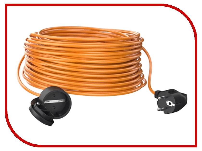 Партнёр-Электро GardenLine 3x0.75 10A с заземлением 10m Orange cord US104B-110OR партнёр электро gardenline 3x1 5 16a с заземлением 50m orange cord us106c 150or