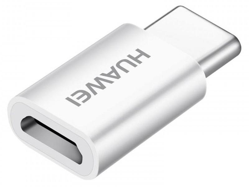 Аксессуар Huawei AP52 USB Type-C - microUSB White 4071259