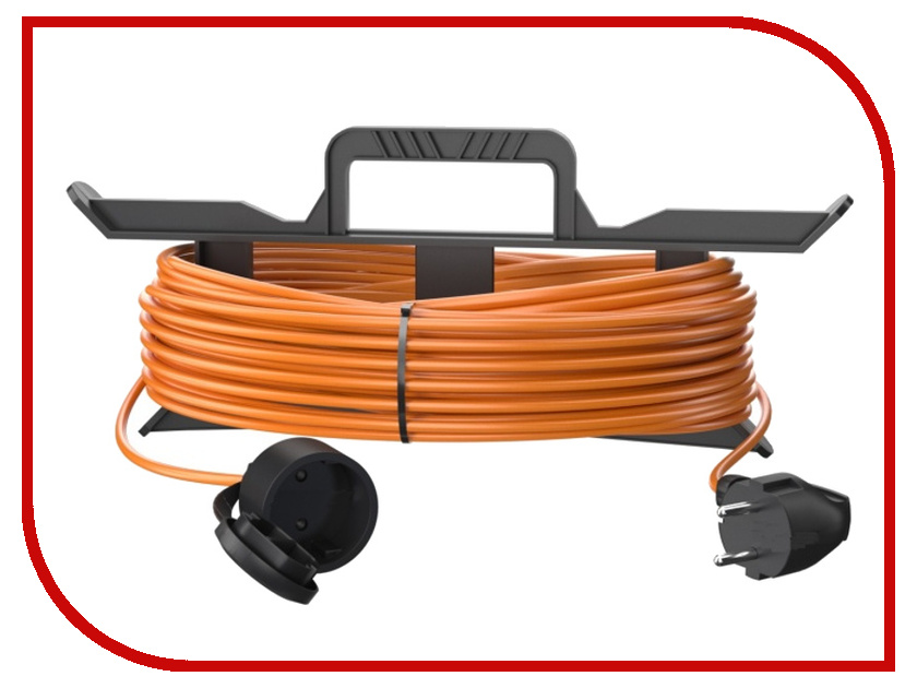 Удлинитель Партнёр-Электро GardenLine 2x0.75 6A без заземления 50m Orange cord US201A-150OR партнёр электро gardenline 3x1 5 16a с заземлением 50m orange cord us106c 150or