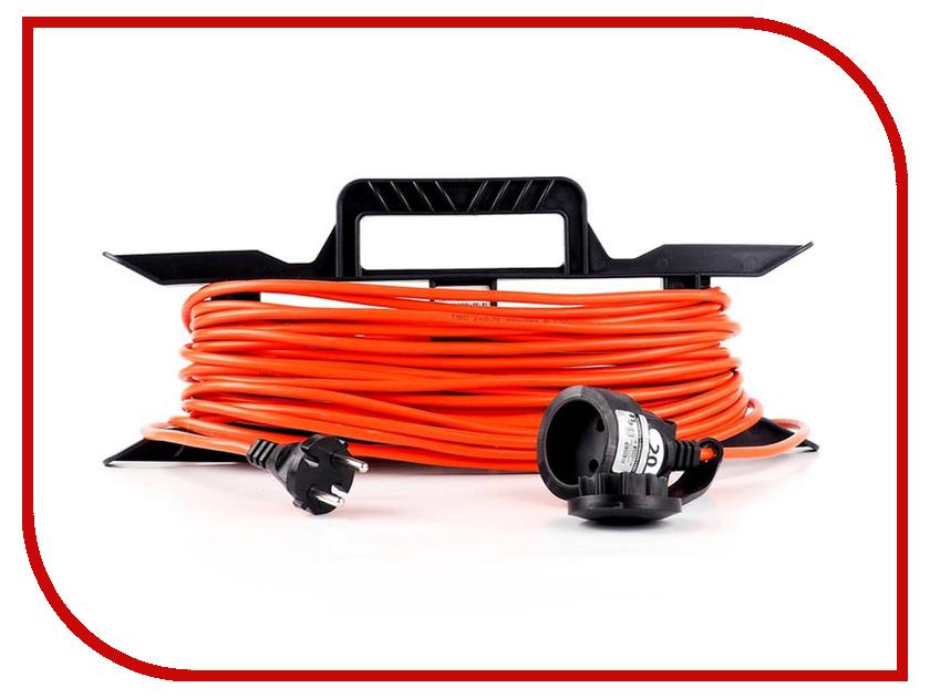 Удлинитель Партнёр-Электро GardenLine 2x0.75 10A без заземления 30m Orange cord US201B-130OR survival parachute cord paracord purple 30m 140kg max tensile
