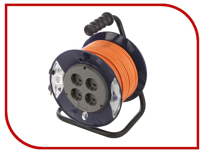 Партнёр-Электро PowerLine 4 Sockets 3x1.5 16A с заземлением 30m Orange cord UK106C-430DB электро акустическое устройство kasun 10 ktv kfd 10c14