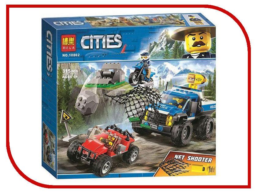 Конструктор Bela Cities Погоня по грунтовой дороге 315 дет. 10862 конструктор lego city погоня по грунтовой дороге 60172