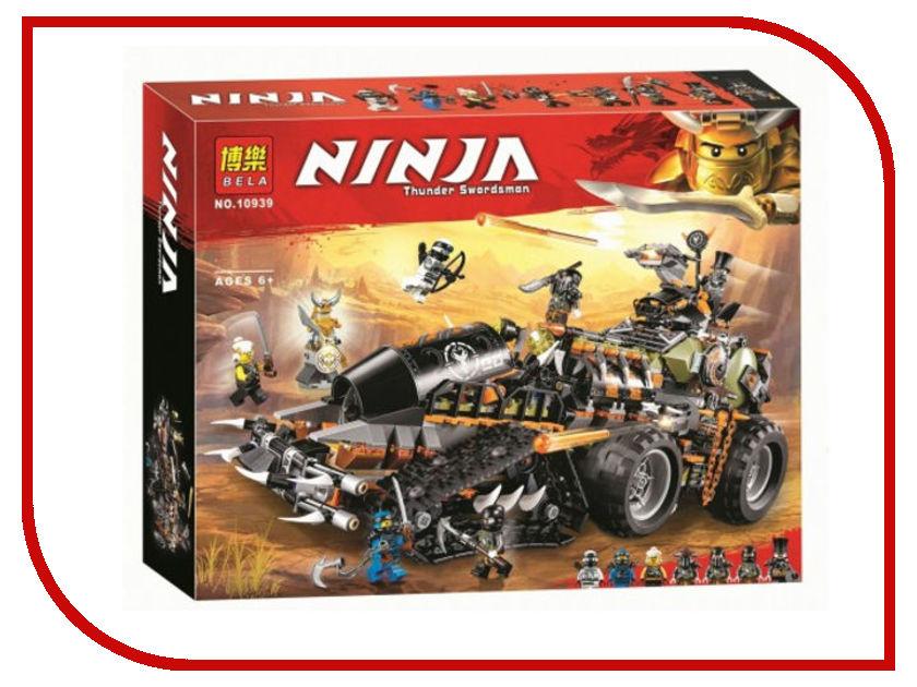 Конструктор Bela Ninja Стремительный странник 1230 дет. 10939 755pcs bela 10325 ninja db x nya pythor kai masters of spinjitzu ninja building block toys compatible with lego