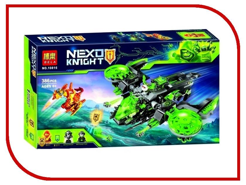 Конструктор Bela Nexo Knight Неистовый бомбардировщик 386 дет 10816 reloop rhp 20 knight